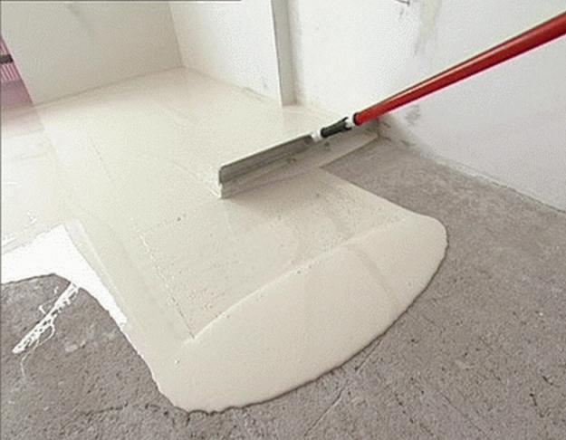 Применение наливных бетонных полов